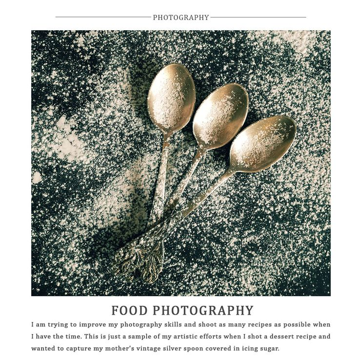Five Little Things - Food Photography