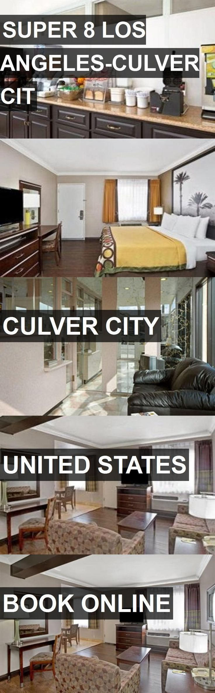 Hotel SUPER 8 LOS ANGELES-CULVER CIT in Culver City, United States. For more information, photos, reviews and best prices please follow the link. #UnitedStates #CulverCity #travel #vacation #hotel