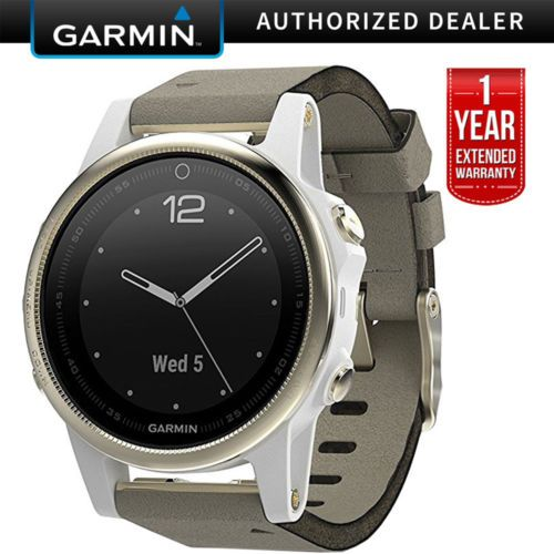 Details About Garmin Fenix 5s Sapphire Multisport Gps Watch