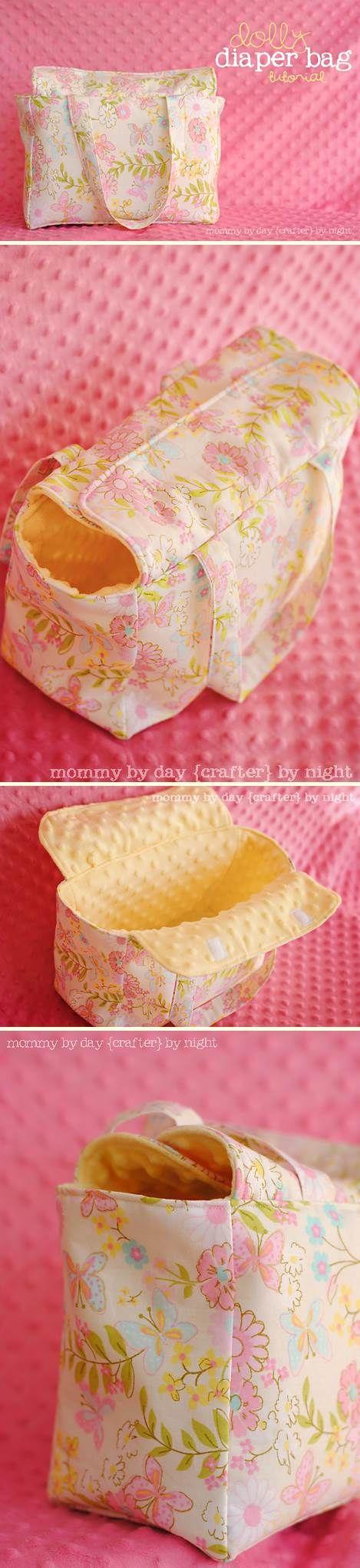 Dolly diaper bag | DIY Stuff
