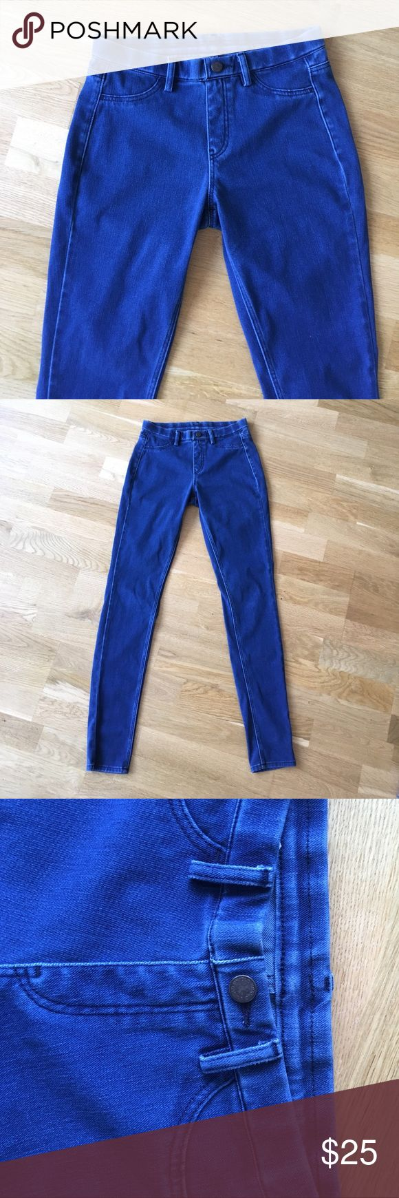 Uniqlo leggings pants in XS They feel like leggings but look like jeans! Extremely easy and comfortable. Size XS. No signs of wear. Uniqlo Pants Leggings