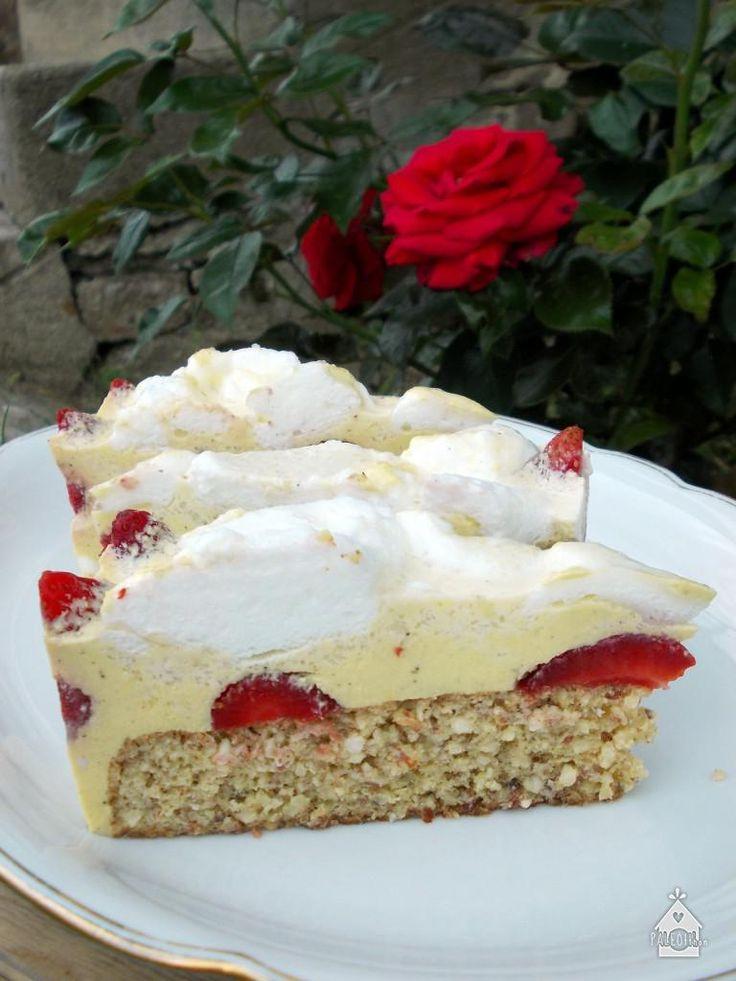 Paleo epres madártej torta