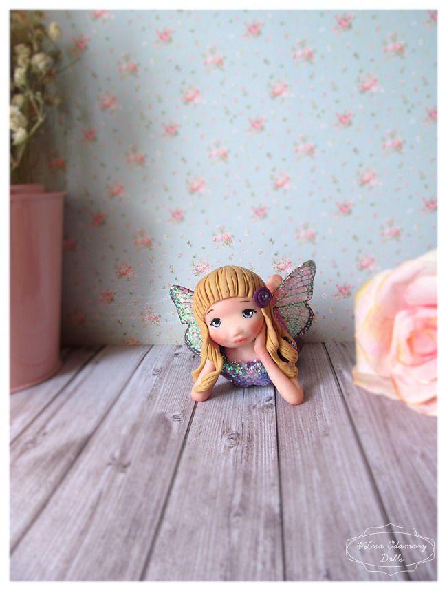 Réservé F***Azélie ● figurine fée poupée ● : Accessoires de maison par lisaofees