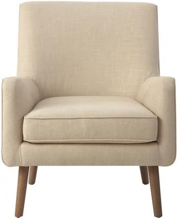 Custom Mid-Century Modern Upholstered Accent Chair - Upholstered Accent Chairs - Modern Accent Chairs - Contemporary Accent Chairs   HomeDecorators.com