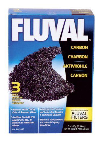 Fluval Carbon, 100-gram Nylon Bags - 3-Pack