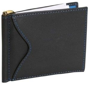 Find your case and credit cards at a fast clip! When business meets pleasure, you get a sleek and minimalist offering. Leather with 6 credit card pockets and  2 additional business credit card pockets on the outside. #Wallet #Front Pocket Wallet