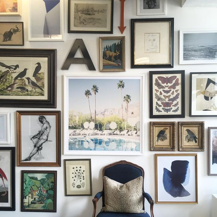 20 Artful Ideas For Gallery Wall Arrangements One Kings Lane Wall Art