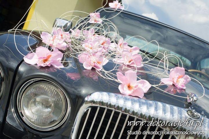 Dekoracja samochodu - jaguar - www.dekoracje4u.pl