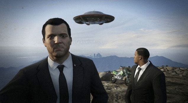 30 Grand Theft Auto 5 Funny Selfies