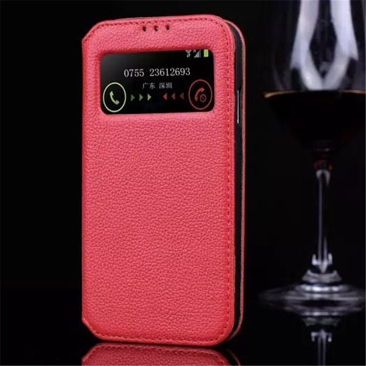 Моды Натуральная Кожа Флип Чехол Для Samsung Galaxy S4 S 4 i9500 Интеллектуальный Сна открытое Окно Телефон Защитный Чехол