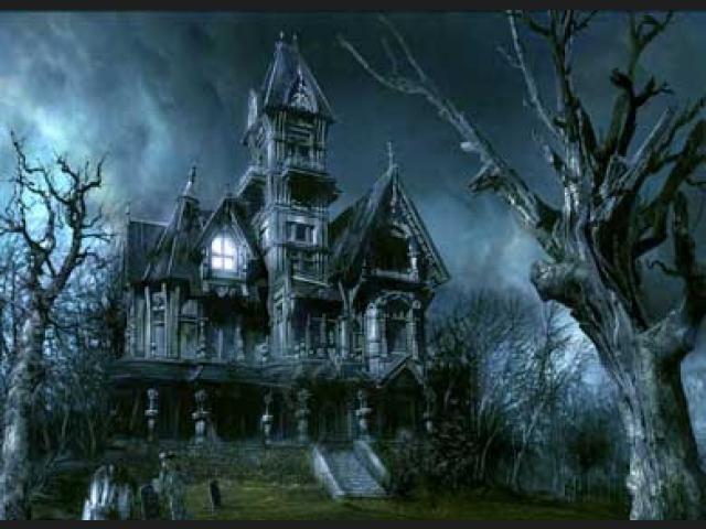 Terrorífica Casa Embrujada #CasasEmbrujadas #Halloween