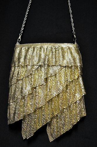1920s Flapper Style Glomesh Evening Bag By 'Forever New' - Perfect Condition