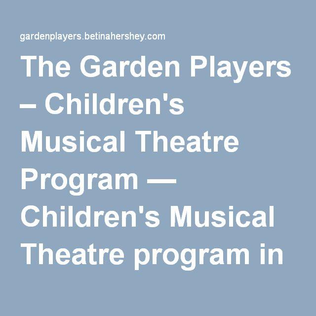 The Garden Players – Children's Musical Theatre Program — Children's Musical Theatre program in Forest Hills, Queens.