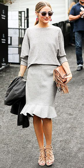 Olivia Palermo in Aquazzura sandals
