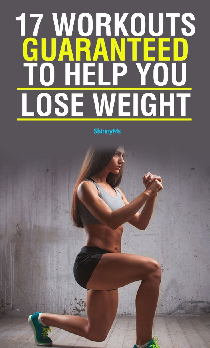 17 Workouts Guaranteed to Help You Lose Weight!
