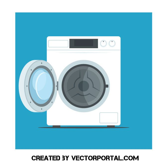 Washing Machine Free Vector Art Washing Machine Free Vector Art Vector Images