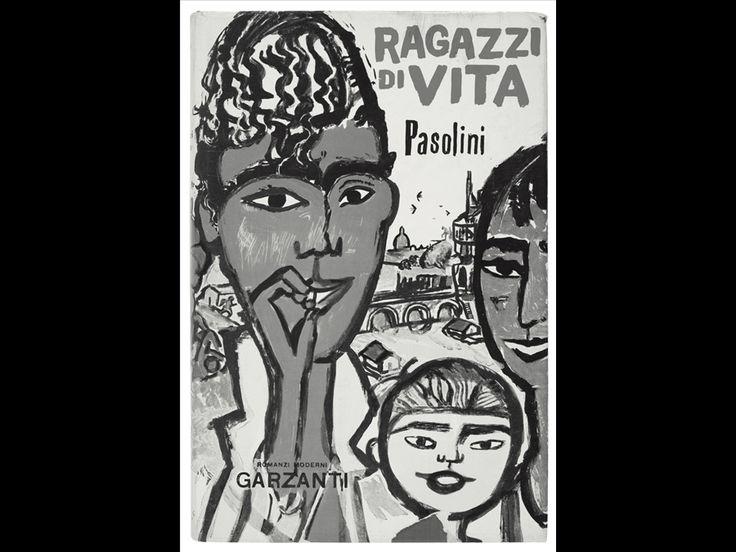 Prima edizione di Ragazzi di vita, Milano, Garzanti, 1955