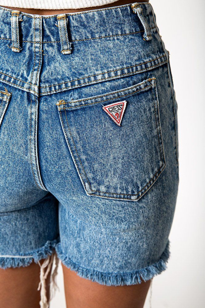 The Vintage Guess Acid Wash Shorts – WAIST 27 | Denim Refinery