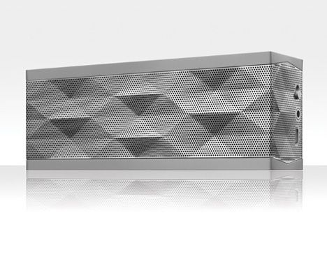 Jawbone Jambox Bluetooth portable speaker.
