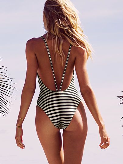 Low-back One-piece Forever Sexy | swimsuits #proshopaholic