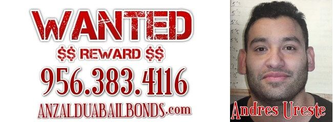 Andres Ureste Wanted Failure to Appear - http://anzalduabailbonds.com/wanted/andres-ureste-wanted-failure-to-appear.php