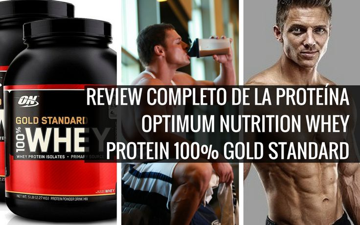 Review completo de la proteína Optimim Nutrition Whey Protein 100% Gold Standard.  #fitness #supplement #Diet #nutrition #Muscle