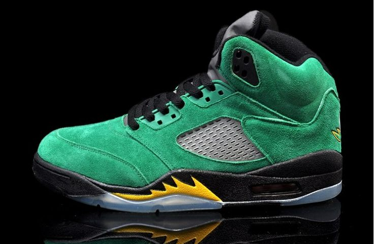 454803-535 Air Jordan 5 Oregon Ducks Black/Apple Green-Yellow Strike   $149   http://www.sneakerforsale2014.com/454803-535-air-jordan-5-oregon-ducks-black-apple-green-yellow-strike-706.html