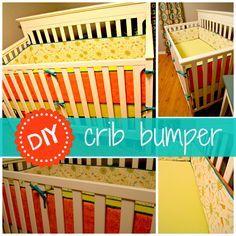 DIY Crib Bumpers {Part 1- Piping