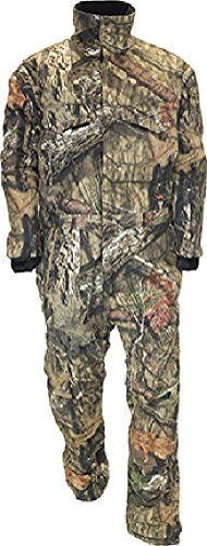Walls Industries 1540S5 Mens Insulated Short Coveralls, Mossy Oak - 2XL