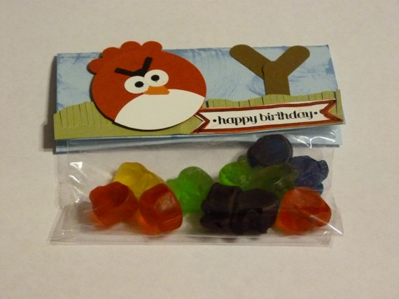 Angry Birds Party Favors Goodie Bags Set of 20. $25.00, via Etsy.