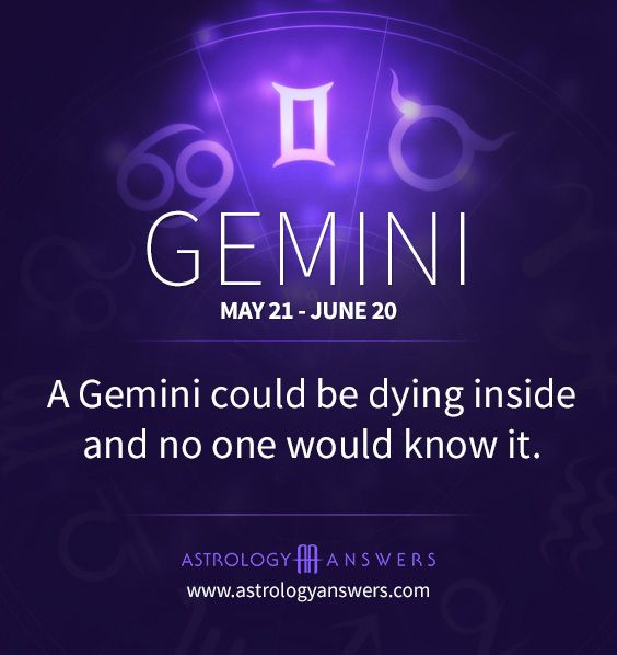 you don't even know..ohhh gemini