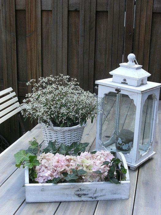 Dekorieren Sie den Garten im Shabby Chic-Stil. Hier für dich heute ein Furz … – Dekoration ideen