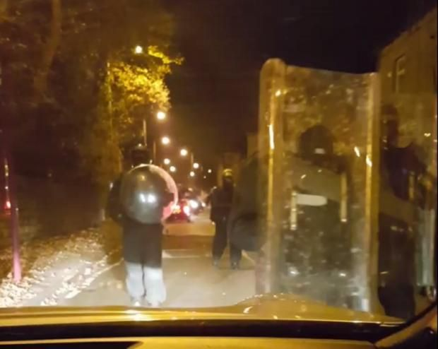 Riot police called out to incident in Undercliffe