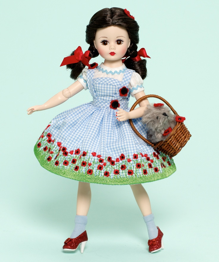 Madame Alexander Wizard of Oz Dorothy In The Poppy Fields 10-inch Collectible Doll - Wizard of Oz
