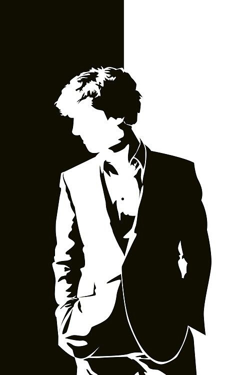 Black & White Sherlock