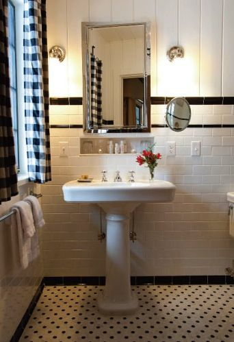trim in small bathrooms. Tile  shiplap together to update an old outdated bath 271 best borders images on Pinterest Bathroom ideas
