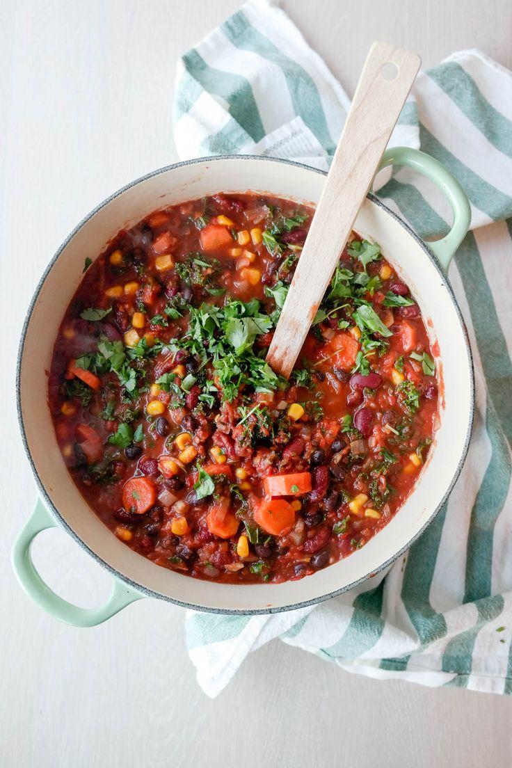 Lyst å spise mer grønt? Mia som skriver bloggen Green Bonanza har svaret. Sjekk ut hennes oppskrift på chili sin carne her!