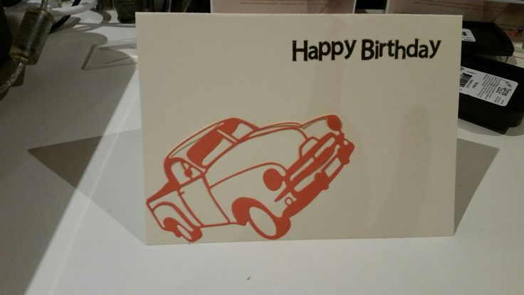 Male bday card