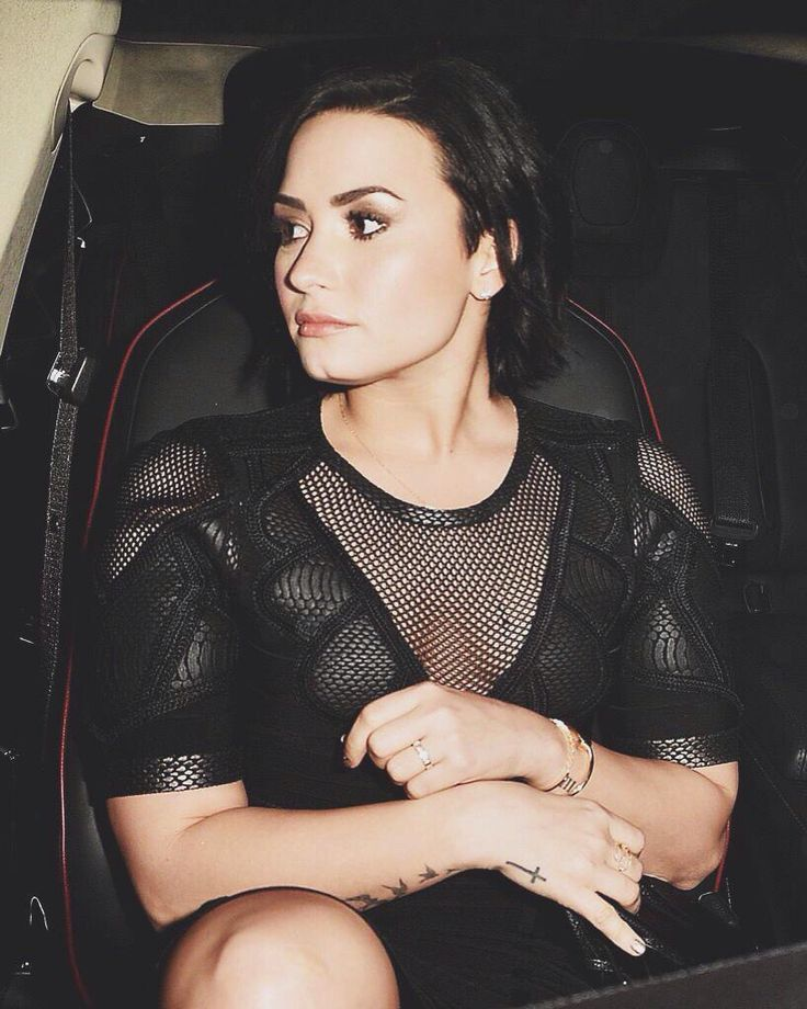 Demi Lovato celebrates Nick Jonas' song 'Jealous' being the #1 at Top 40 radio hit in Los Angeles - January 20th 2015