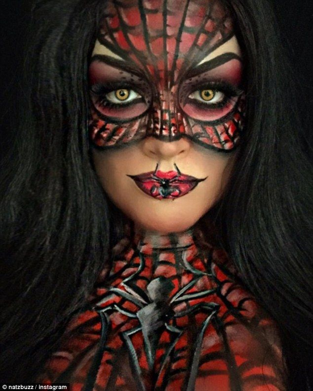 If you're already searching for Halloween inspiration, look no further than face painter, Natalie Costello. The 27-year-old, from Dublin, regularly transforms into Disney and fictional characters.