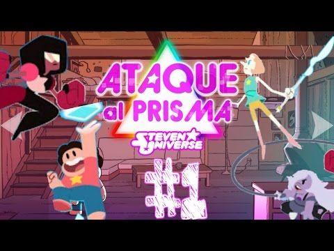 ► STEVEN UNIVERSE: ATTACK THE LIGTH : #1 GAMEPLAY ESPAÑOL ATAQUE AL PRISMA - YouTube