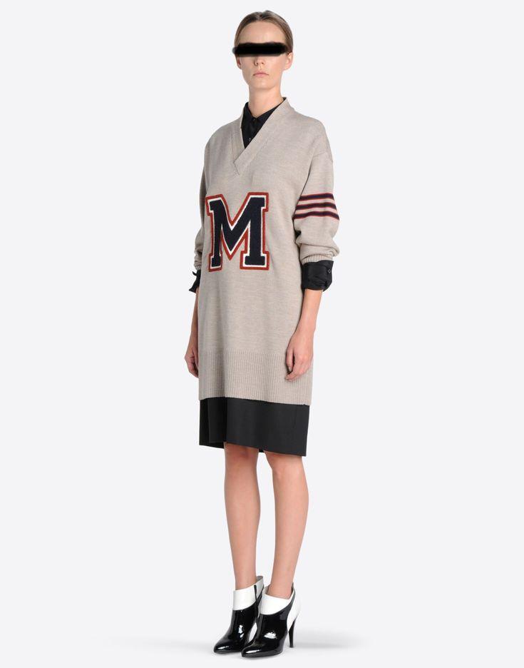 レディース 長袖ニット ニット - Maison Margiela 【メゾン マルタン マルジェラ公式eブティック】 - 'Replica' カレッジセーター