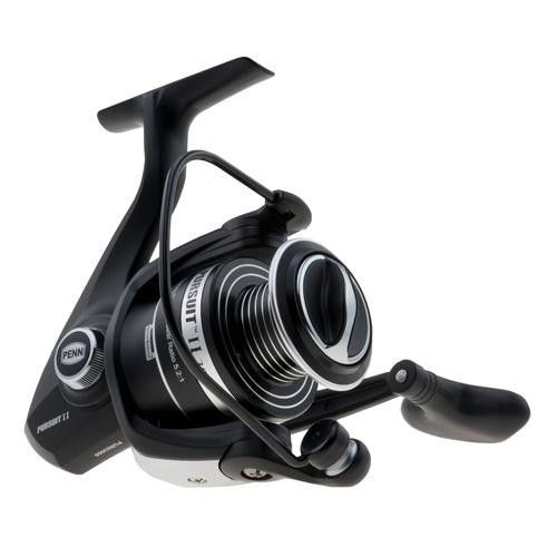 "Pursuit II Spinning Reel Reel - 4000, 5.2:1 Gear Ratio, 28"" Retrieve Rate, 13 lb Max Drag, Ambidextrous, Boxed"