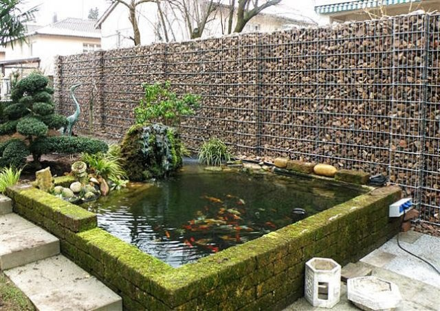 138 best images about Gabions Rock on Pinterest