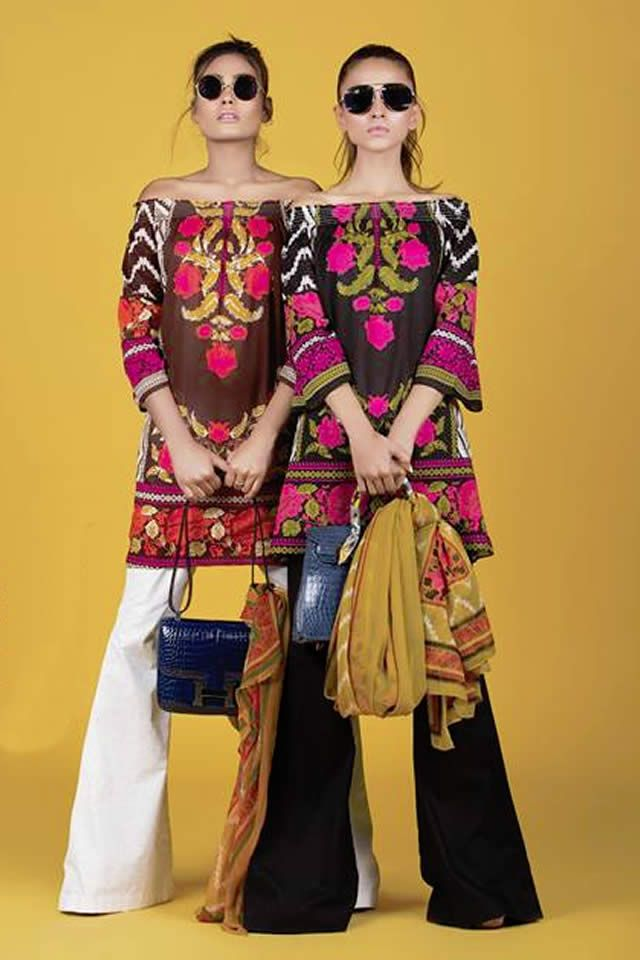 Sana Safinaz Summer Lawn collection 2016