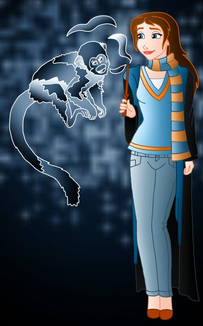 Jane as Ravenclaw