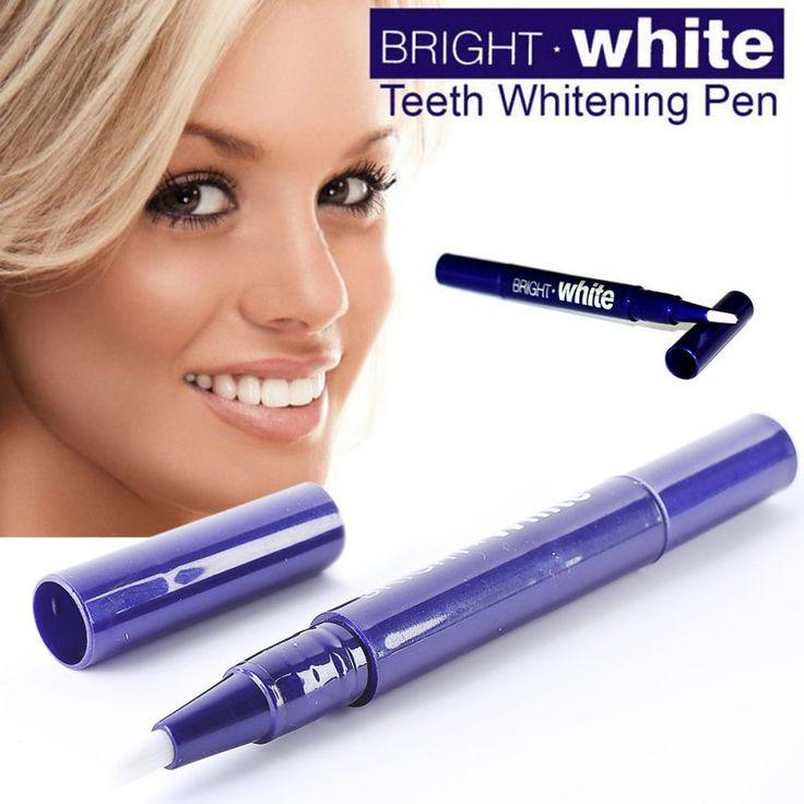 1ピース歯ホワイトニングペン歯ジェルナー漂白システムステイン消しゴム取り外しインスタント女性美容健康