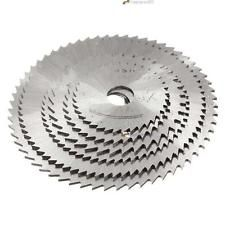 6Pcs Rotary cortador de Mini HSS Serra Circular Disco lâmina lâminas do cortador + Mandril LN