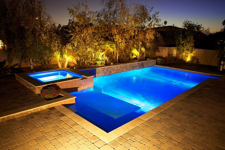 Pebble Technology International Saltwater pool, Pool