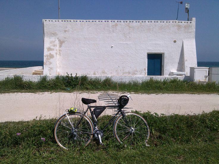 #weareinpuglia #randonneur #touringbike